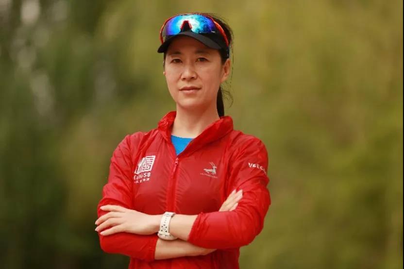 王丽萍--2019长治上党国际马拉松赛的领跑者